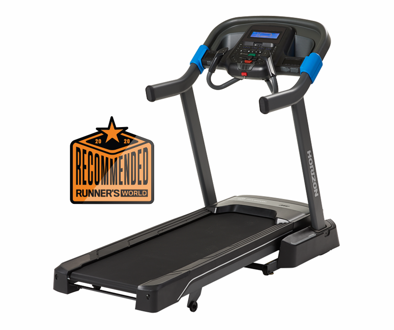 """<p>horizonfitness.com</p><p><strong>$999.00</strong></p><p><a href=""""https://go.redirectingat.com?id=74968X1596630&url=https%3A%2F%2Fwww.horizonfitness.com%2Fhorizon-7-0-at-treadmill&sref=https%3A%2F%2Fwww.redbookmag.com%2Flife%2Fg34807828%2Fblack-friday-treadmill-deals%2F"""" rel=""""nofollow noopener"""" target=""""_blank"""" data-ylk=""""slk:Shop Now"""" class=""""link rapid-noclick-resp"""">Shop Now</a></p><p>Instead of focusing on entertainment, Horizon keyed in on features to give you greater control of your workout with the 7.0 AT. This treadmill has limited training options but connects easily to an iPad or Android tablet so you can take Peloton classes or run using Zwift. Same as with the 7.8 AT above, we liked the thumb dials mounted chest-high on the handgrips that let you quickly make big jumps in speed and incline. While we don't often recommend models that cost less than $1,000 because they generally have small motors and inadequate frames for the pounding that runners inflict, the 7.0 AT is surprisingly steady. We set it up in the home of one of our lighter, faster testers, and he found that the deck didn't shake during intervals. The belt is narrower and shorter than we'd prefer, but you'll appreciate the small profile if you're setting it up in a tight space.</p><p><em>Originally $1,999</em></p>"""