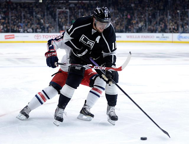 Anze Kopitar could play against Philadelphia, per kings coach Darryl Sutter (UPDATE)