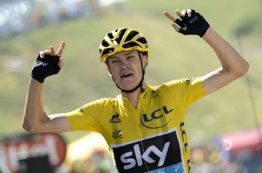 Froome wins first Tour de France mountain stage
