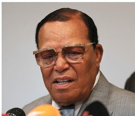 Minister Louis Farrakhan has made offensive remarks about Jewish communities and has been banned from entering the UK since 2002PA