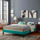 """<p><strong>houzz</strong></p><p>houzz.com</p><p><strong>$179.00</strong></p><p><a href=""""https://go.redirectingat.com?id=74968X1596630&url=https%3A%2F%2Fwww.houzz.com%2Fproduct%2F164818265&sref=https%3A%2F%2Fwww.cosmopolitan.com%2Flifestyle%2Fg34968161%2Fbest-cheap-bed-frames%2F"""" rel=""""nofollow noopener"""" target=""""_blank"""" data-ylk=""""slk:Shop Now"""" class=""""link rapid-noclick-resp"""">Shop Now</a></p><p>Show off your love for all things mid-century modern with the Teal Tessie Frame. Then bring the whole look together with <a href=""""https://www.cosmopolitan.com/lifestyle/g34618564/diy-wall-decor-ideas/"""" rel=""""nofollow noopener"""" target=""""_blank"""" data-ylk=""""slk:DIY wall decor"""" class=""""link rapid-noclick-resp"""">DIY wall decor</a> worth showing off.</p>"""