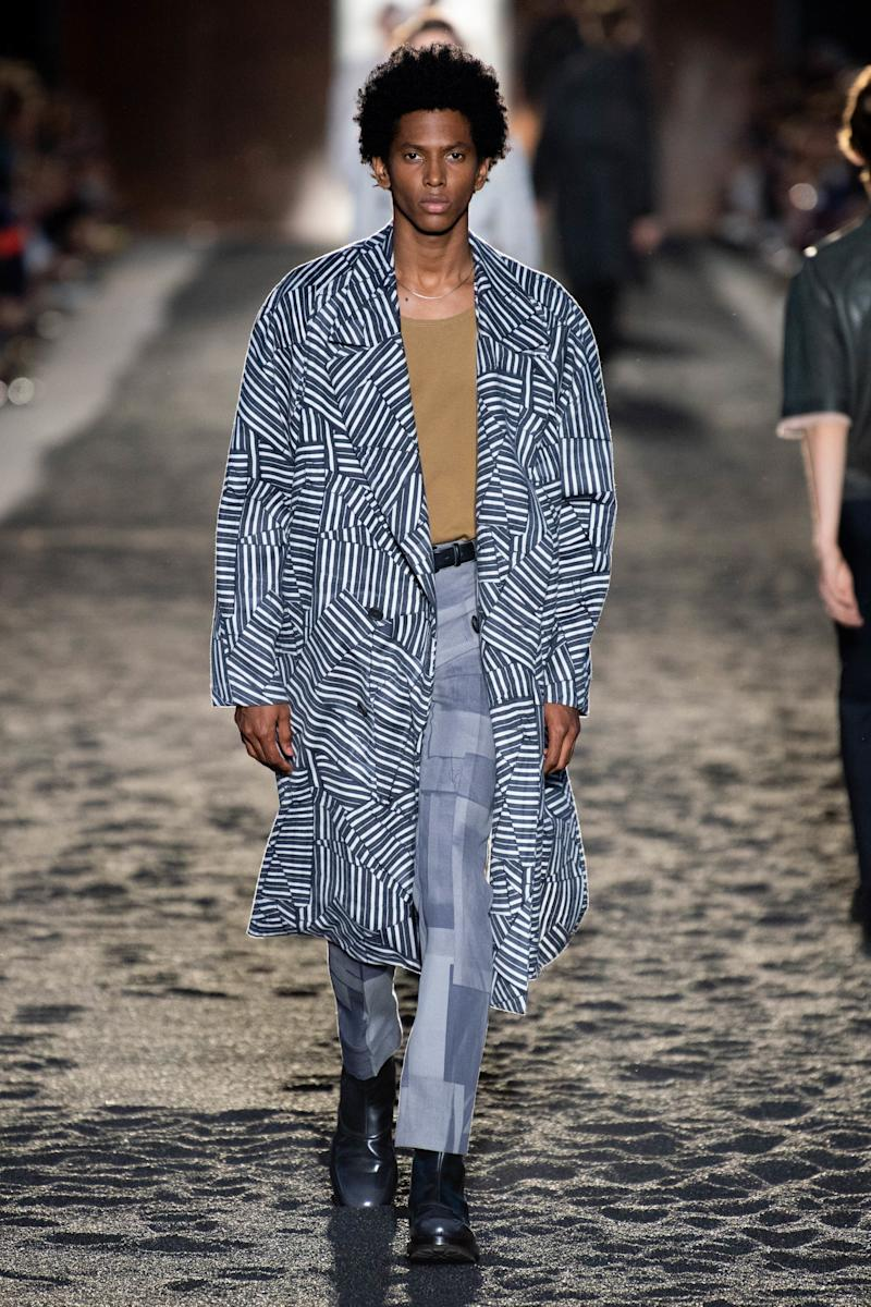 Since joining Ermenegildo Zegna as artistic director in 2017, Alessandro Sartori has made upcycling and waste reduction a core part of his message. Twenty percent of the clothes in his Spring 2020 Menswear collection were upcycled from old garments, and several pieces included scraps of wool and nylon left on the cutting room floor.
