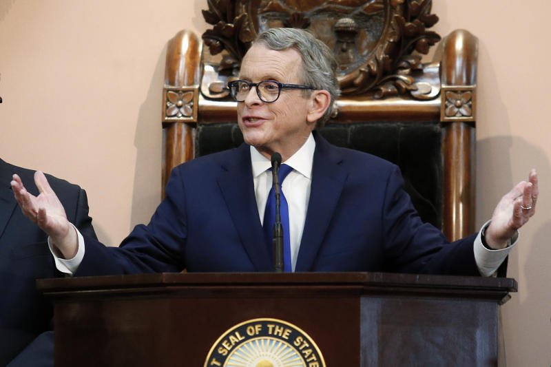 Ohio governor pleads for legislative action on gun violence