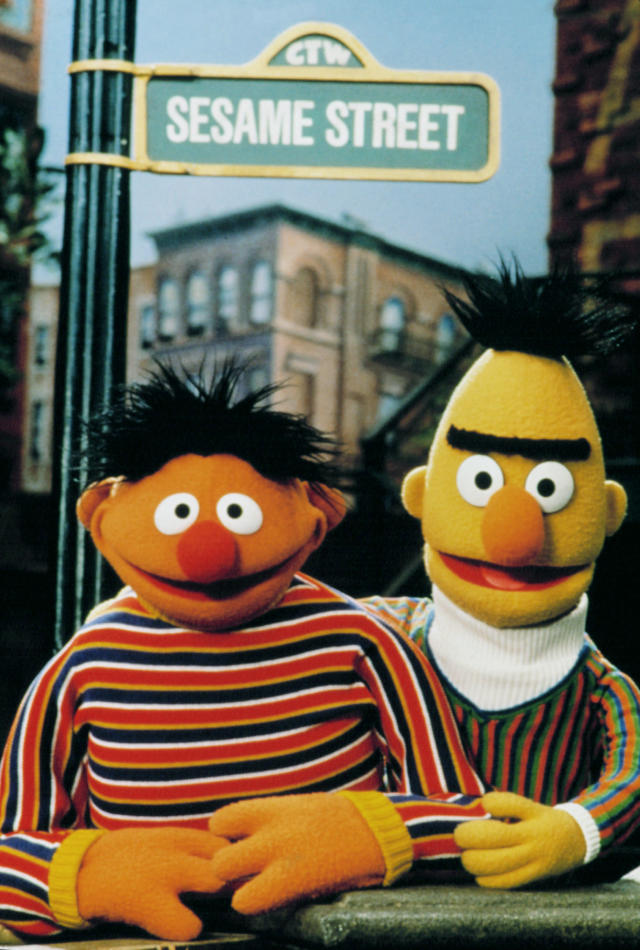 Frank Oz and Jim Henson were the original voices of Bert and Ernie and the duo's relationship reflected their own professional collaboration. (Photo: PBS / Courtesy: Everett Collection)