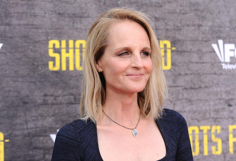 "NORTH HOLLYWOOD, CA - MAY 10: Actress Helen Hunt attends the ""Shots Fired"" FYC event at Saban Media Center on May 10, 2017 in North Hollywood, California. (Photo by Jason LaVeris/FilmMagic)"