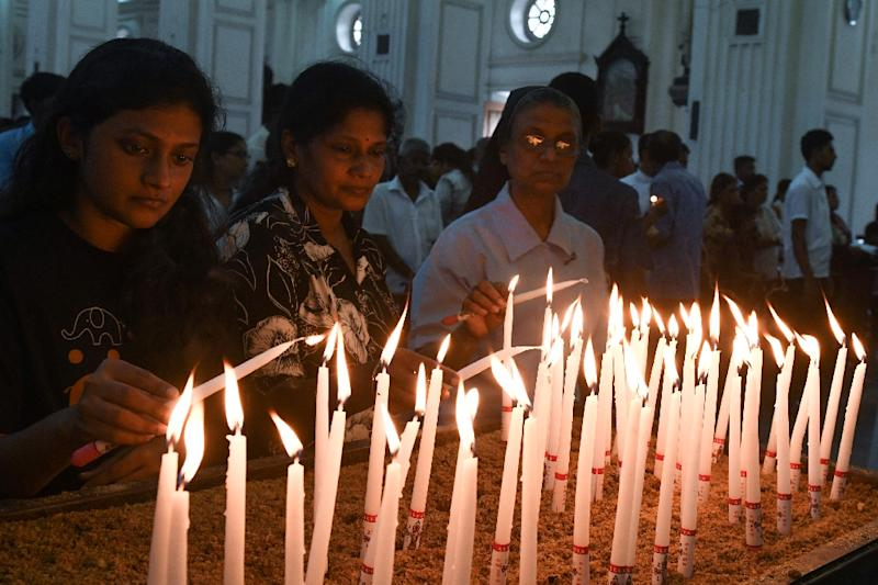 The archbishop of Colombo held a special Mass for the victims and survivors of the Easter Sunday attacks (AFP Photo/LAKRUWAN WANNIARACHCHI)