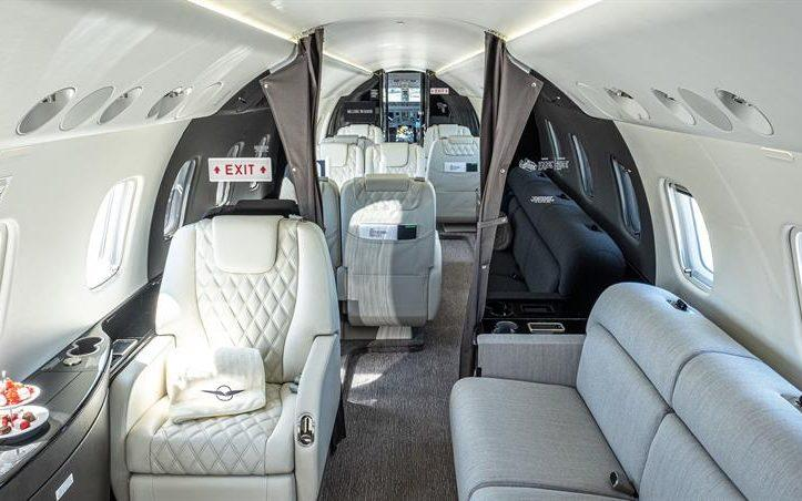 The private jet that will whisk you to Severins in Lech - Fly Victor