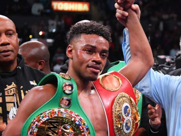 Errol Spence Jr is back in the ring this weekend (Getty)