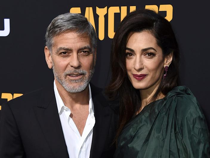 George and Amal Clooney in May 2019.