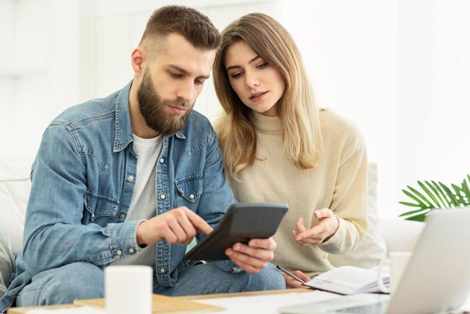 Do you and your partner talk about money? (Alamy/PA)