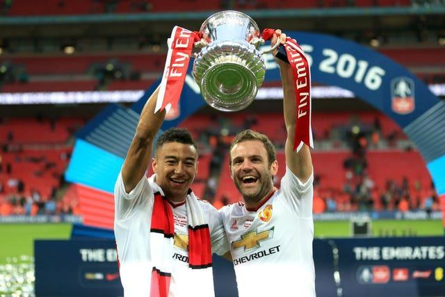 Jesse Lingard scored as Manchester United came from behind to beat Crystal Palace in the 2016 FA Cup final.