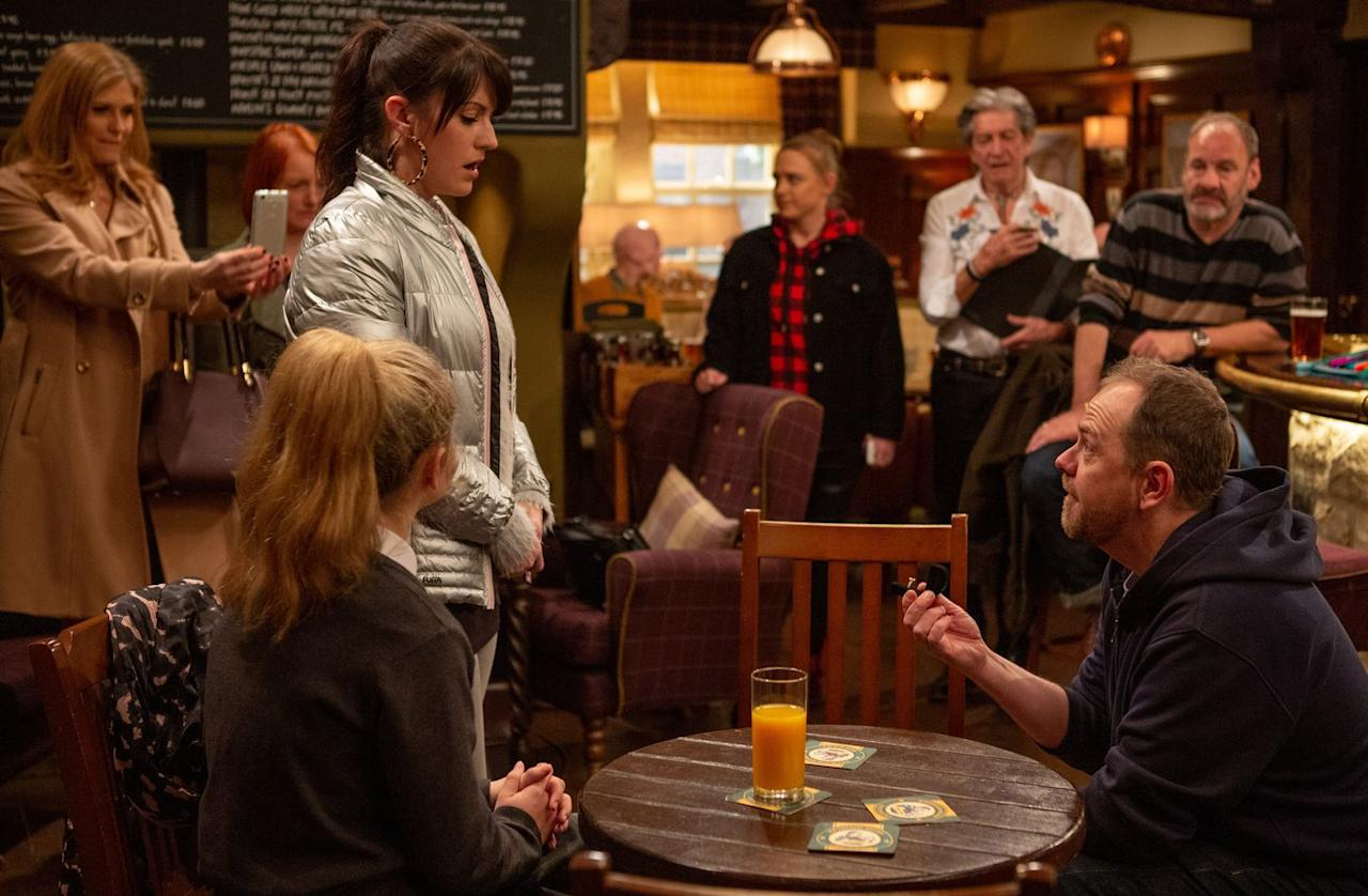 <p>The timing couldn't be worse, as Kerry has been confiding in Amy about how she doesn't love Dan anymore.</p>