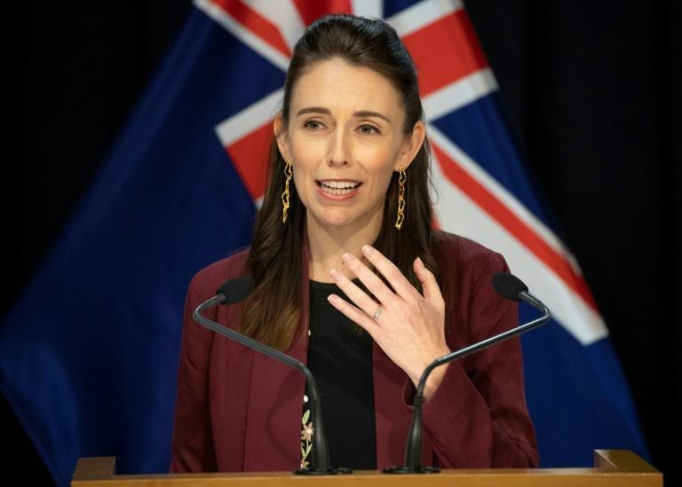 The survey indicated an overwhelming 91.6 percent backing for Ardern's COVID-19 response (AFP Photo/Mark Mitchell)