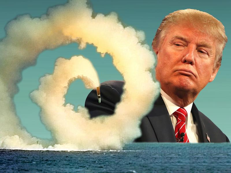 trump nuclear weapons illustration 3x4