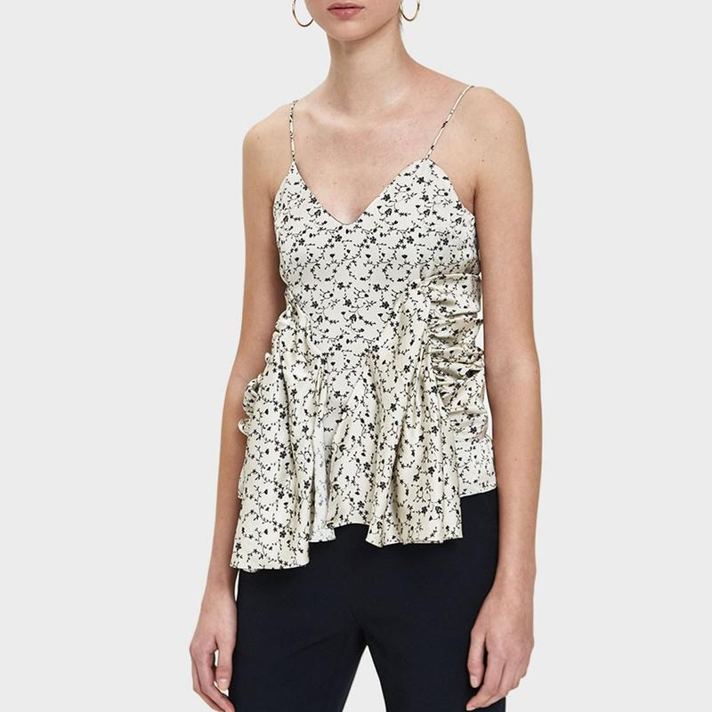 """<a rel=""""nofollow noopener"""" href=""""https://rstyle.me/n/c65rqachdw"""" target=""""_blank"""" data-ylk=""""slk:Ruched Camisole Top, AALTO, $471"""" class=""""link rapid-noclick-resp"""">Ruched Camisole Top, AALTO, $471</a>"""