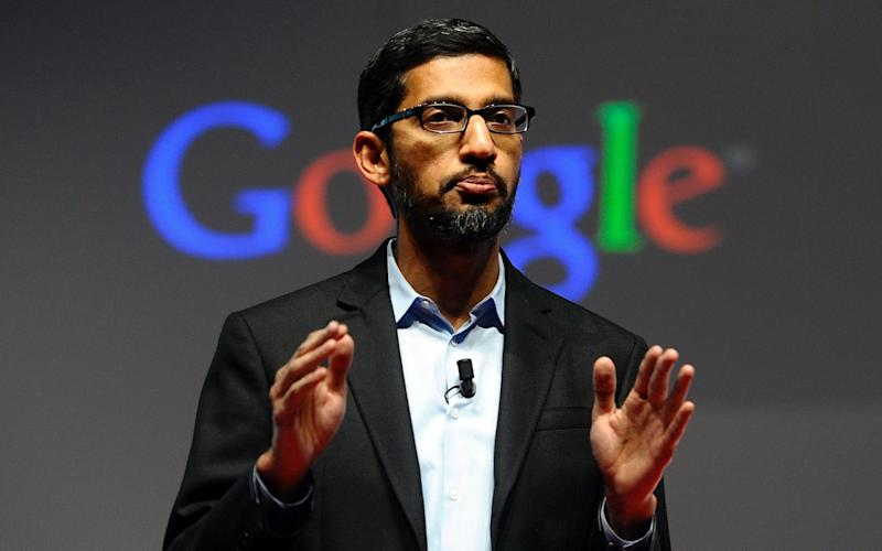 Google chief executive Sundar Pichai - AP