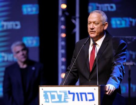 Netanyahu election rival Gantz says will work for unity government