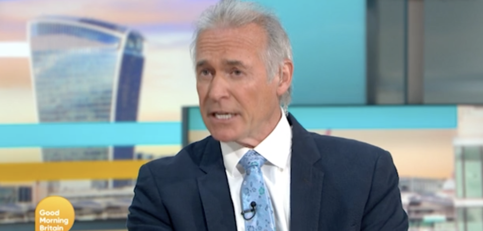 Dr Hilary Jones suggested there should be caution around lockdown lifting too soon. (ITV)