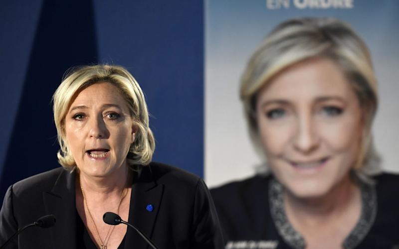 French presidential election candidate for the far-right Front National (FN) party Marine Le Pen - Credit: LIONEL BONAVENTURE/AFP/Getty Images