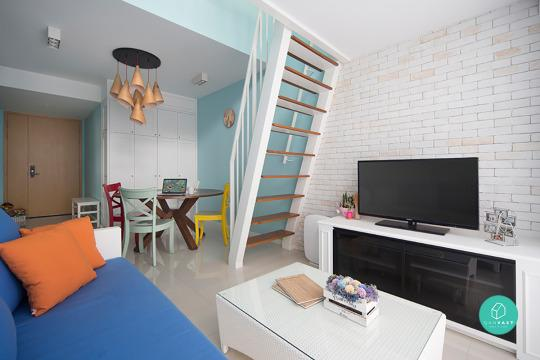 And High Ceilings To Give The Apartment A Larger Perspective Keep Colours Décor Light Pastel Like Baby Blues Pinks Is Cute Touch