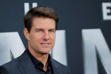 "FILE PHOTO: Actor Tom Cruise arrives for the premiere of the film ""The Mummy"" in New York"