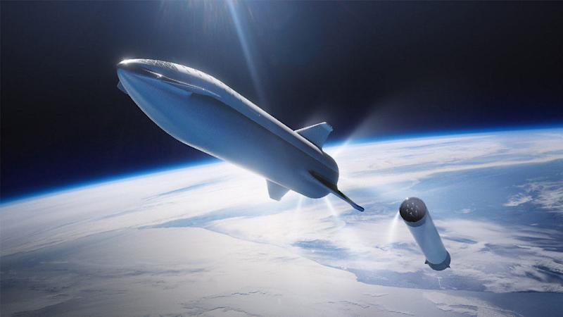 Elon Musk renames SpaceX's BFR spacecraft for Mars colonisation to Starship
