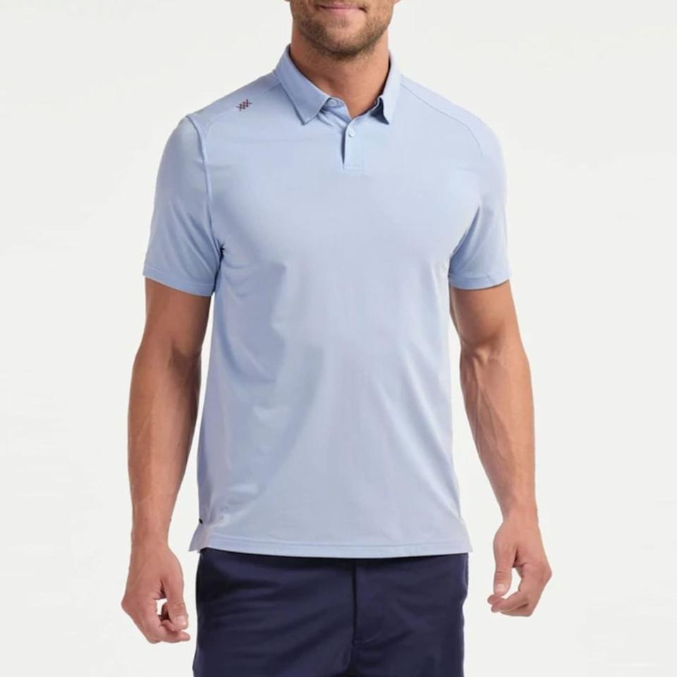 "<p><strong>Men's Polo Shirt</strong></p><p>rhone.com</p><p><a href=""https://go.redirectingat.com?id=74968X1596630&url=https%3A%2F%2Fwww.rhone.com%2Fproducts%2Fcommuter-sport-polo%3Fvariant%3D31611493253223%26ref%3Dcollection%26color%3D52%26size%3D82&sref=https%3A%2F%2Fwww.menshealth.com%2Fstyle%2Fg31484330%2Frhone-spring-sale-mens-deals%2F"" target=""_blank"">BUY IT HERE</a></p><p><del>$98.00</del><strong><br>$78.40 </strong></p><p>Looks like a regular polo shirt, but four-way stretch makes it anything but ordinary. Plus, it boasts anti-stink technology, which is essential when you're cooped up for hours.</p>"