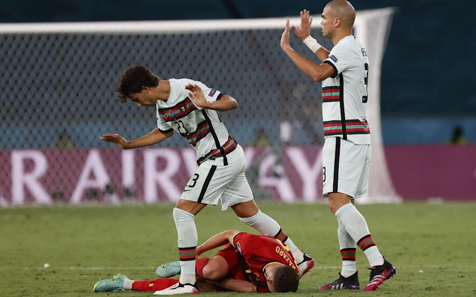Pepe apologises for foul - SHUTTERSTOCK