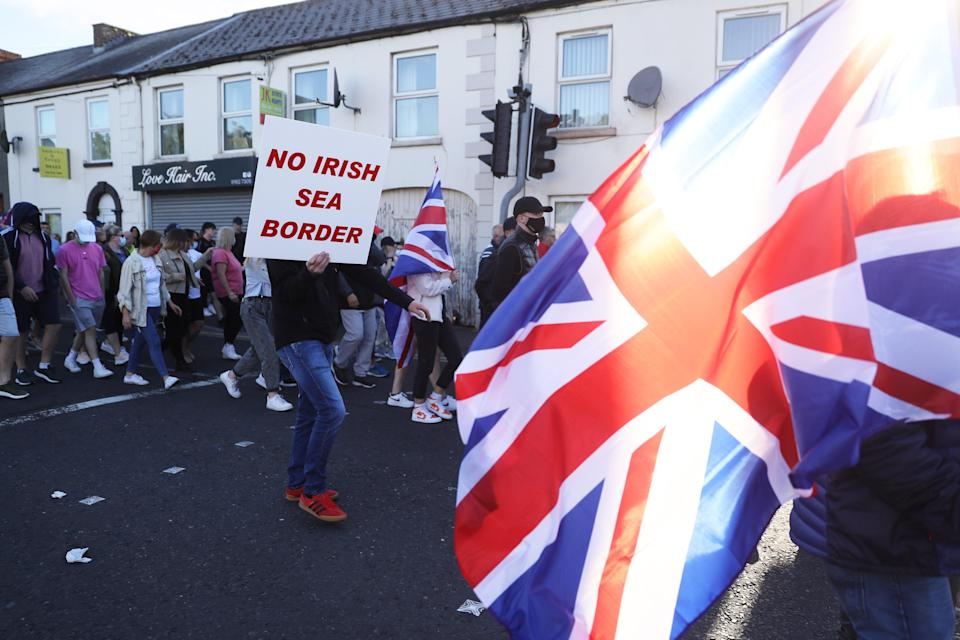 The Northern Ireland Protocol has angered Unionists (Brian Lawless/PA) (PA Wire)