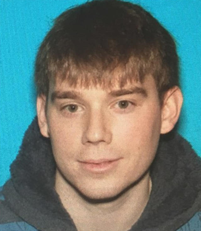<p>This photo provided by Metro Nashville Police Department shows Travis Reinking, who police are searching for in connection with a fatal shooting at a Waffle House restaurant in the Antioch neighborhood of Nashville early Sunday, April 22, 2018. (Metro Nashville Police Department via AP) </p>