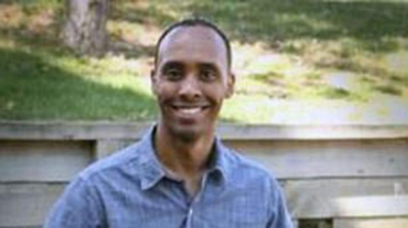 Officer Mohamed Noor was allegedly sitting in the passenger seat of a police car when leaned over and shot across his partner. Source: Minneapolis Police Department