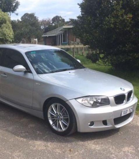 Michael Mammone's silver BMW was found on Saturday night, about a kilometres away from where his body was discovered. Source: Victoria Police