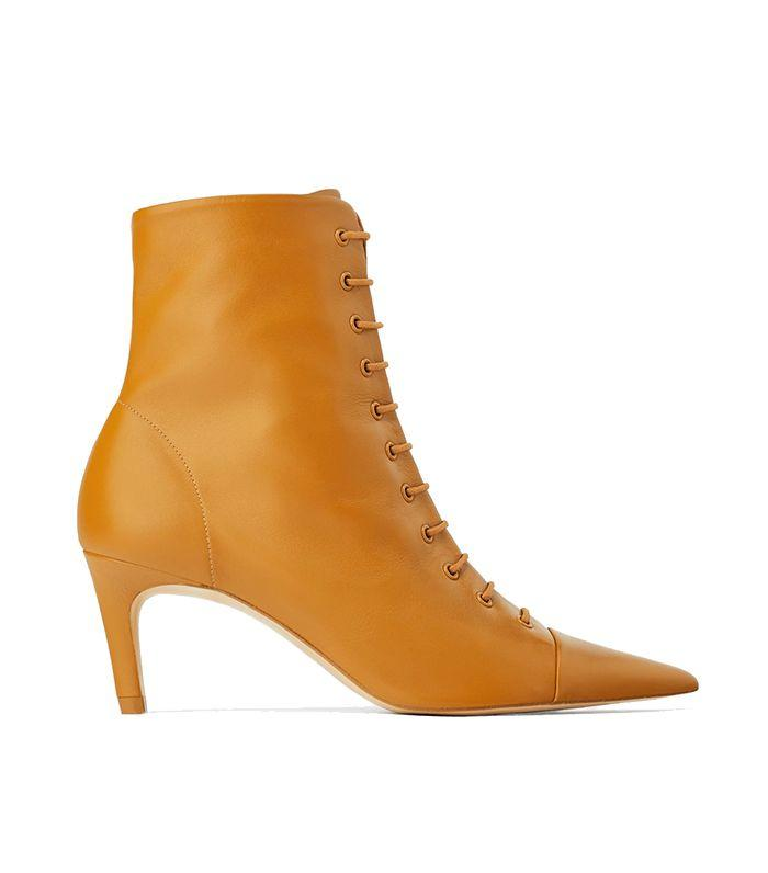 ea9b339b08f5 Zara s sellout boot now comes in caramel.
