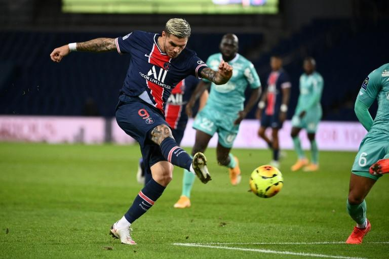 PSG's Icardi out of Champions League match against Manchester Utd