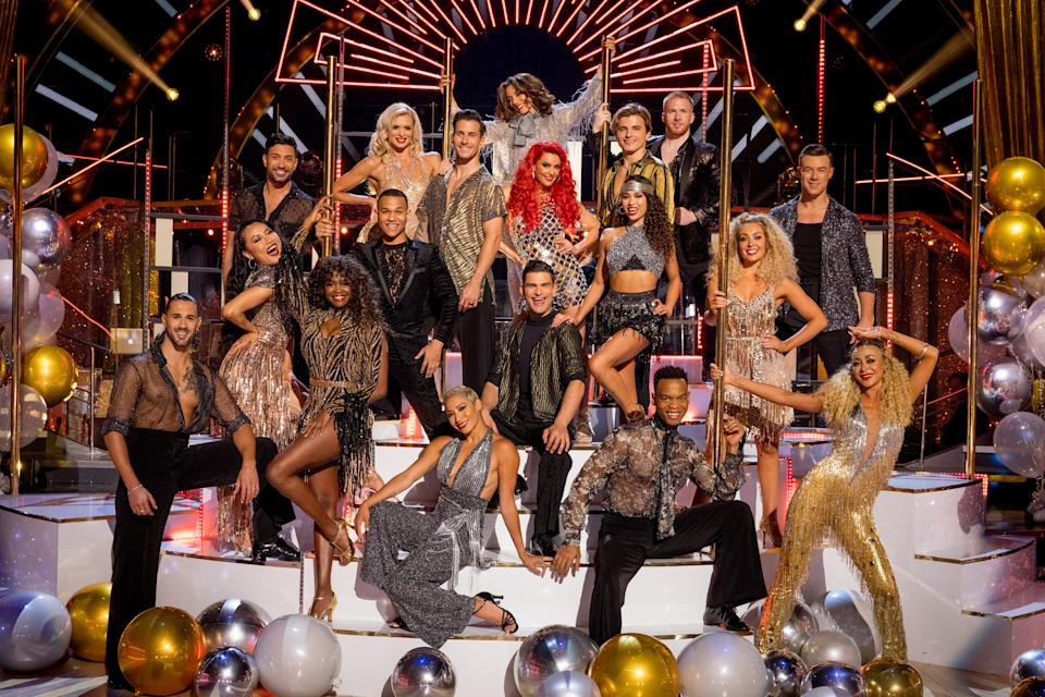 WARNING: Embargoed for publication until 00:01:00 on 08/09/2021 - Programme Name: Strictly Come Dancing 2021 - TX: 08/09/2021 - Episode: Strictly Come Dancing 2021 - Professional Dancers (No. n/a) - Picture Shows: The Strictly Come Dancing 2021 Professional Dancers  - (C) BBC - Photographer: Guy Levy