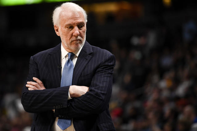 Gregg Popovich is the latest voice to join what has been a largely united front from the NBA. (Getty)