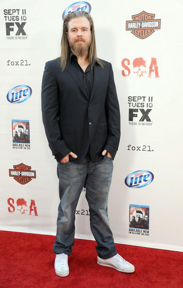 """Ryan Hurst attends the """"Sons of Anarchy"""" Season 5 premiere screening at Westwood Village on September 8, 2012 in Los Angeles, California."""