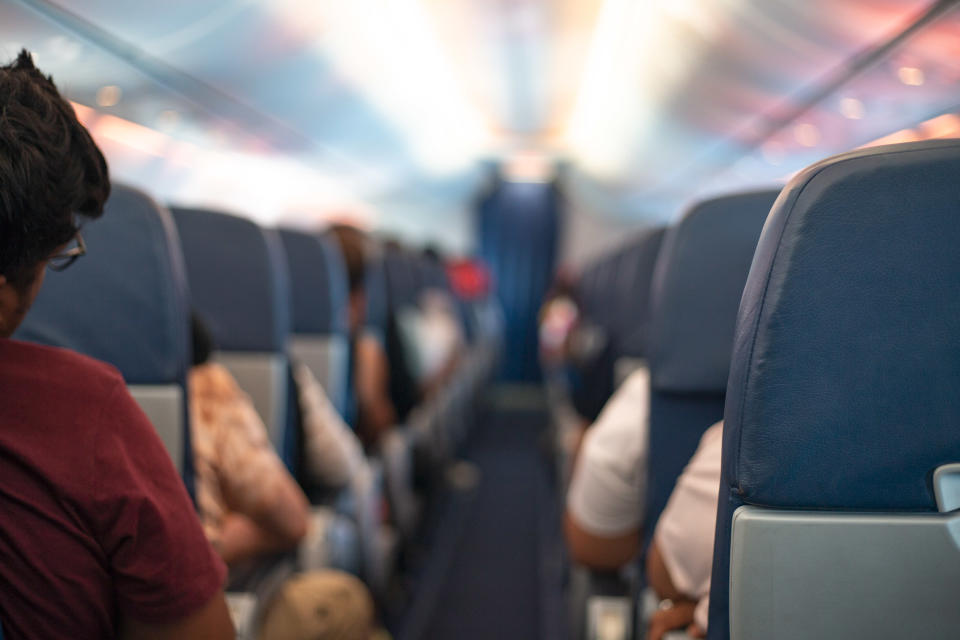 In a now-viral thread, journalist Joanna Chiu tweeted about an incident she overheard on a plane between a man who appeared to be in his thirties and a teenage girl. (Credit: Getty)