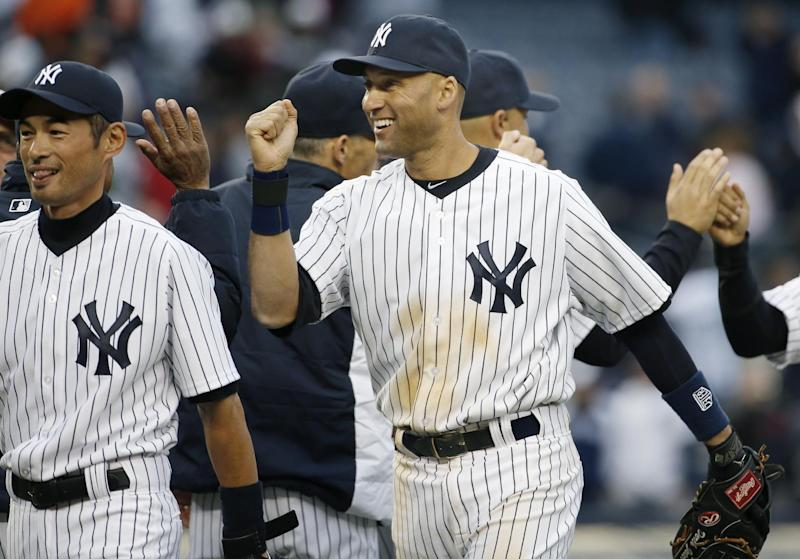 Jeter, Yankees beat Orioles 4-2 in homer opener