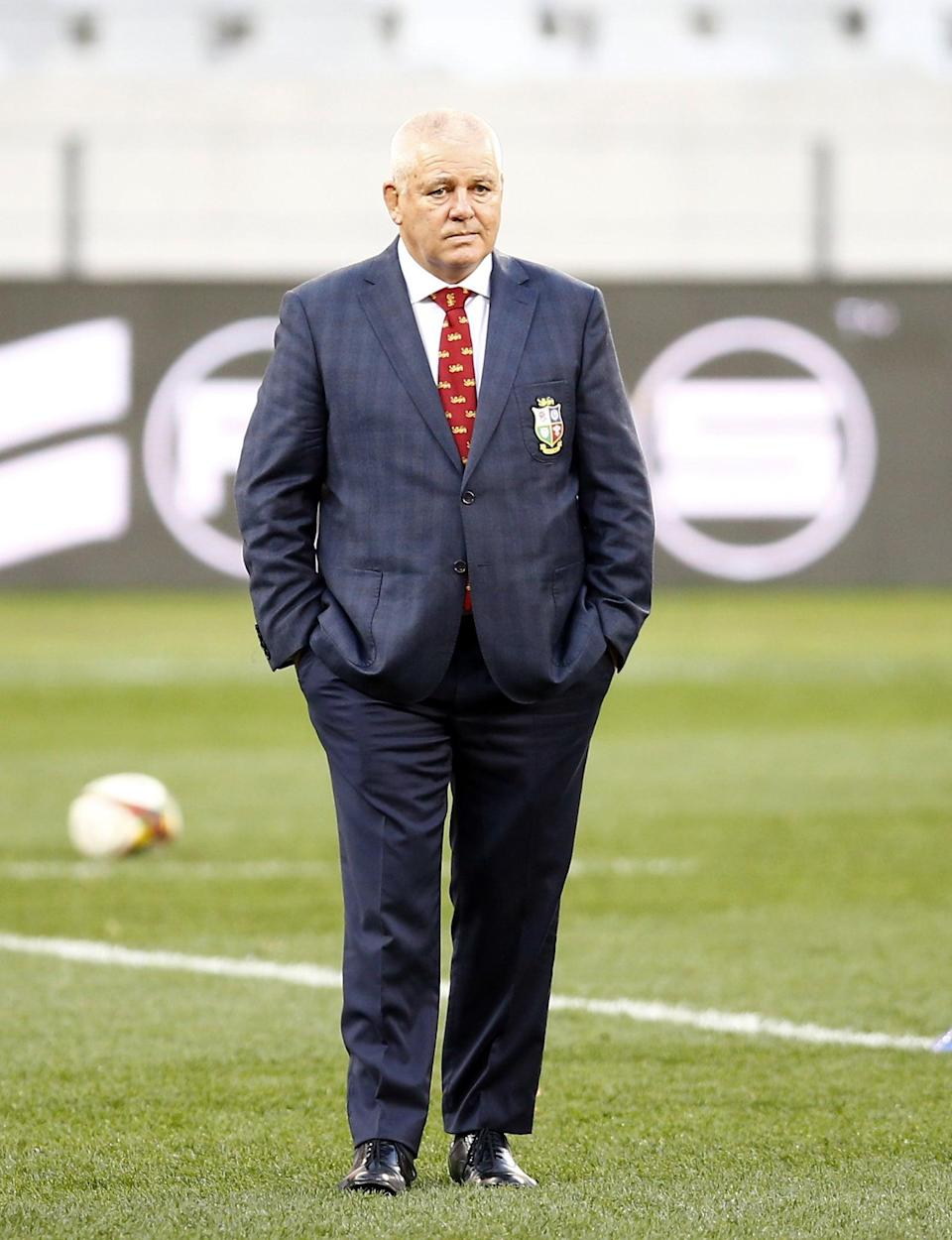 Warren Gatland, pictured, has led the Lions on three successive tours (Steve Haag) (PA Wire)