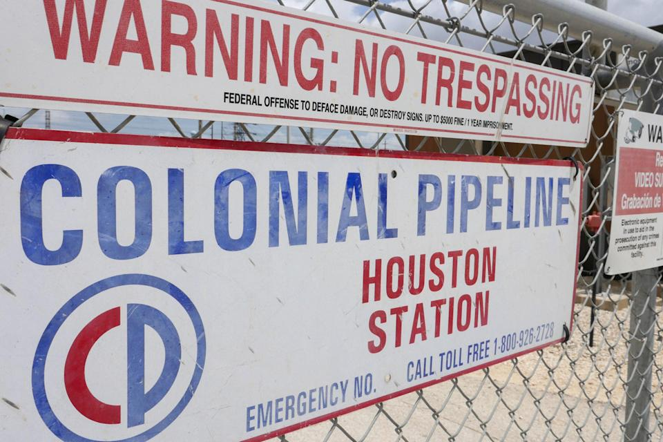 <p>The Colonial Pipeline, which was hit by a cyberattack last week, is restarting operations</p> (AFP via Getty Images)