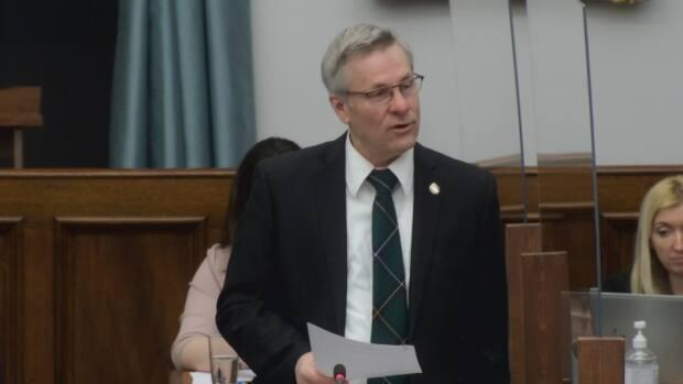 Henderson raised the issue of the rising cost of building supplies in question period Thursday.