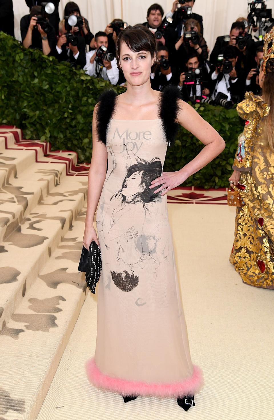 """<h1 class=""""title"""">Phoebe Waller-Bridge in Christopher Kane</h1><cite class=""""credit"""">Photo: Getty Images</cite>"""