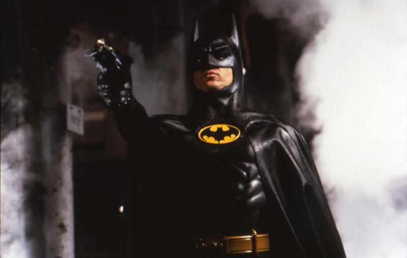 "Michael Keaton in ""Batman."" (Sunset Boulevard via Getty Images)"