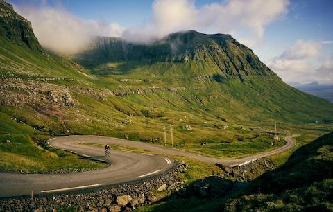 Undulating terrain is challenging but rewarding for cyclists - Credit: getty