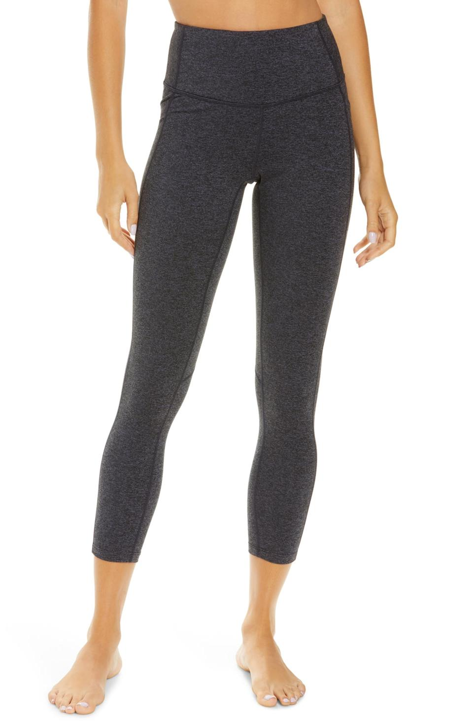 Live In High Waist Pocket 7/8 Leggings. Image via Nordstrom.