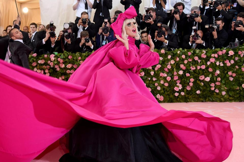 NEW YORK, NEW YORK - MAY 06: Lady Gaga attends The 2019 Met Gala Celebrating Camp: Notes on Fashion at Metropolitan Museum of Art on May 06, 2019 in New York City. (Photo by Jamie McCarthy/Getty Images)