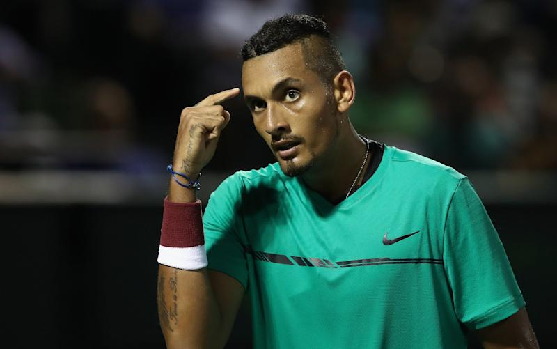Kyrgios  - Credit: getty images