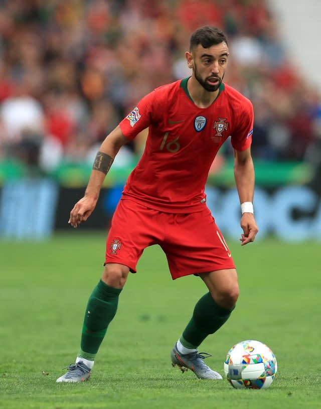 Fernandes has earned 19 caps for Portugal (Mike Egerton/PA)