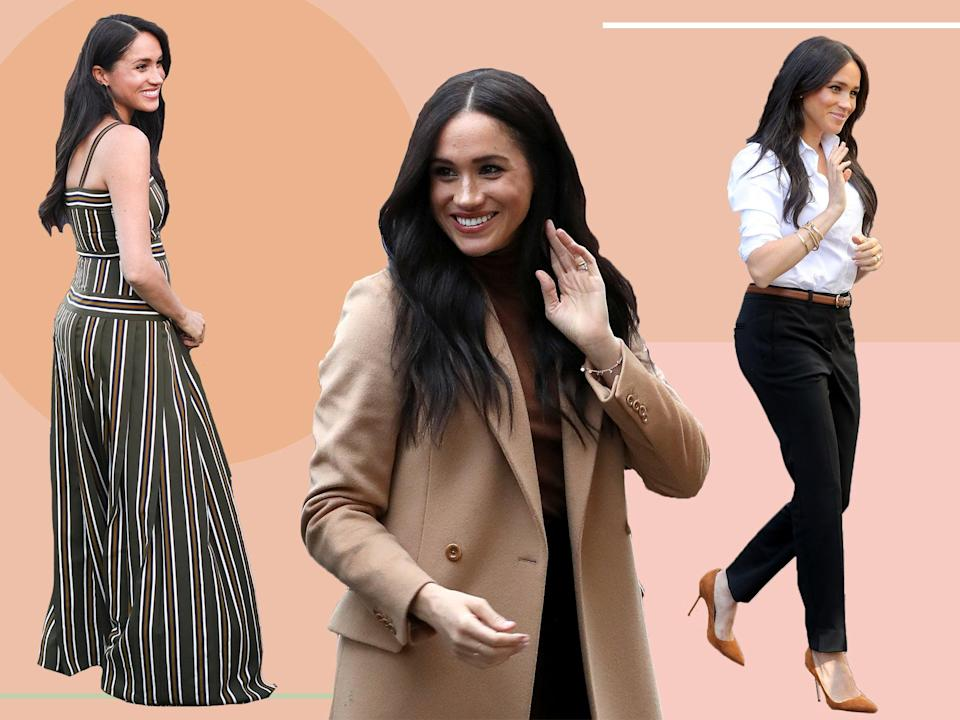 She's a huge fan of UK brands, from Missoma to Strathberry, Edge of Ember and more  (Getty/The Independent)